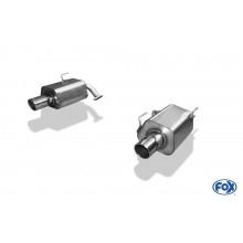 Subaru Forester - SJ Endschalldämpfer rechts/links