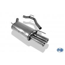 VW T4 - Frontantrieb - Bus/ Transporter/ Multivan/ Caravelle Endschalldämpfer