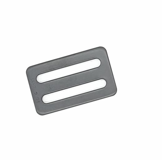 Schlaufhardware 3-Steg-Schieber für 2 Gurt