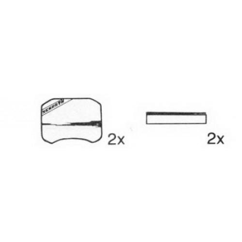 Abdeckkappe mit Achse Längenverstellung