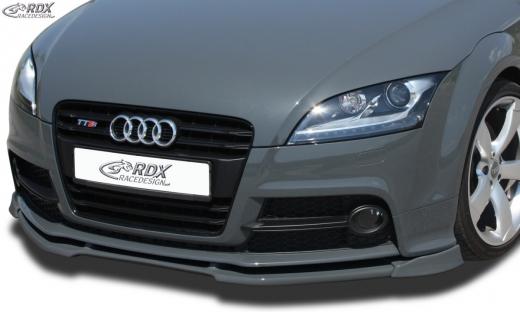 Frontspoiler VARIO-X AUDI TTS 8J Frontlippe Front Ansatz Vorne Spoilerlippe