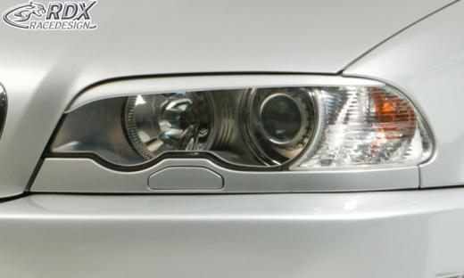 Scheinwerferblenden BMW E46 Coupe / Cabrio (-2003) Böser Blick