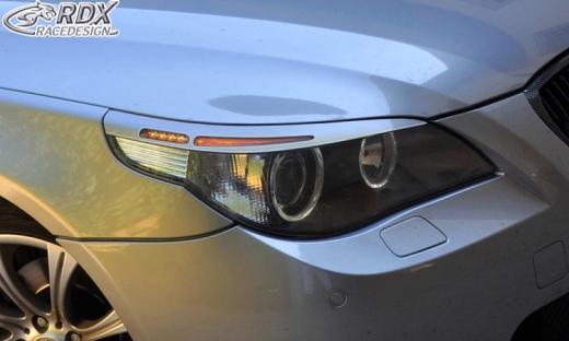 Scheinwerferblenden BMW 5er E60 / E61 -2007 Böser Blick