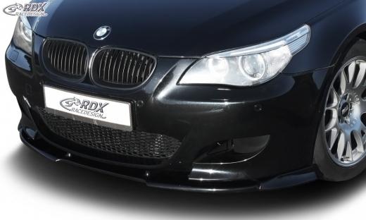 Frontspoiler VARIO-X BMW 5er E60 M5 Frontlippe Front Ansatz Vorne Spoilerlippe