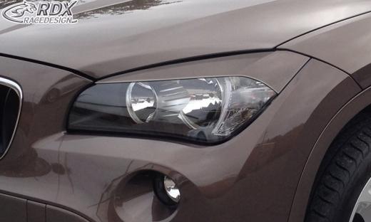 Scheinwerferblenden BMW X1 E84 -2012 Böser Blick