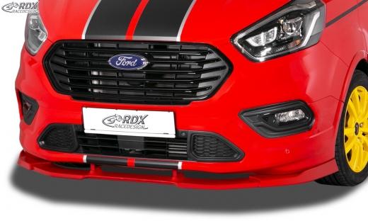 Frontspoiler VARIO-X FORD Transit Custom / Tourneo Custom ST-Line 2018+ Frontlippe Front Ansatz Vorne Spoilerlippe
