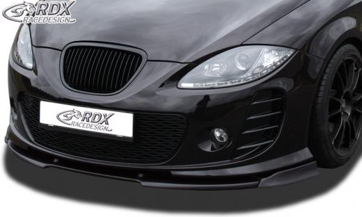 Frontspoiler VARIO-X für SEAT Leon 1P -2009 mit für SEAT Aerodynamik-Kit Frontlippe Front Ansatz Vorne Spoilerlippe