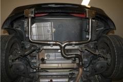 Alfa GTV Typ 916 Endrohrsystem Ausgang rechts links - 145x65 Typ 59 rechts links
