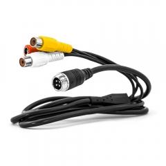 4-Pin Rückfahrkamera auf Cinch Adapterkabel
