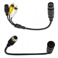 Set Carmedien Adapterkabel für Waeco