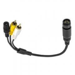 Cinch Adapter für Waeco Rückfahrkamera