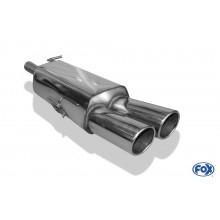 Peugeot RCZ Endschalldämpfer einseitig