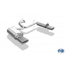 Toyota Avensis T25 Benzin - Limousine Endschalldämpfer rechts/links