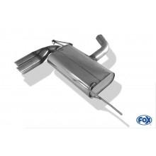 VW EOS - 1F Endschalldämpfer einseitig