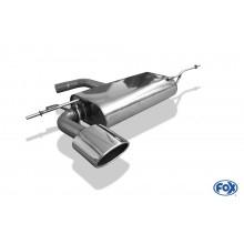VW Golf VI Endschalldämpfer einseitig