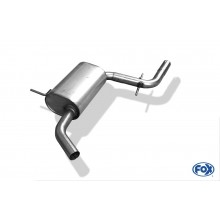 VW Golf VI Mittelschalldämpfer