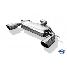 VW Golf VI Endschalldämpfer Ausgang rechts/links