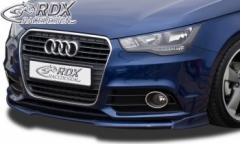 Frontspoiler VARIO-X AUDI A1 8X & A1 8XA Sportback (-01/2015, nicht S-Line) Frontlippe Front Ansatz Vorne Spoilerlippe