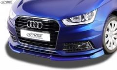 Frontspoiler VARIO-X AUDI A1 8X & A1 8XA Sportback S-Line (01/2015+) Frontlippe Front Ansatz Vorne Spoilerlippe