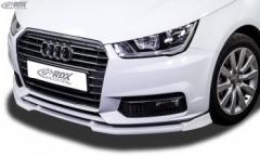 Frontspoiler VARIO-X AUDI A1 8X & A1 8XA Sportback (01/2015+, nicht S-Line) Frontlippe Front Ansatz Vorne Spoilerlippe