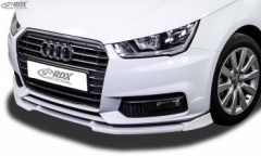 Frontspoiler VARIO-X AUDI A1 8X & A1 8XA Sportback Competition (-01/2015) Frontlippe Front Ansatz Vorne Spoilerlippe