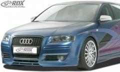 Frontspoiler Audi A3 8P (2006 bis 2008) Frontlippe Front Ansatz Spoilerlippe
