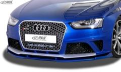 Frontspoiler VARIO-X AUDI RS4 B8 Frontlippe Front Ansatz Vorne Spoilerlippe