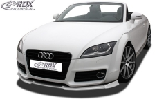 Frontspoiler VARIO-X AUDI TT 8J Facelift 2010+ Frontlippe Front Ansatz Vorne Spoilerlippe