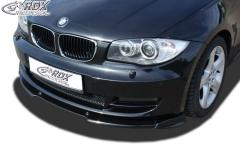 Frontspoiler VARIO-X BMW 1er E82 / E88 Frontlippe Front Ansatz Vorne Spoilerlippe