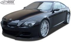 Frontspoiler VARIO-X BMW 6er E63 M6 Frontlippe Front Ansatz Vorne Spoilerlippe