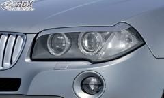 Scheinwerferblenden BMW X3 E83 2003-2010 Böser Blick