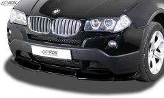 Frontspoiler VARIO-X BMW X3 E83 2003-2010 Frontlippe Front Ansatz Vorne Spoilerlippe
