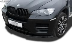 Frontspoiler VARIO-X BMW X6 E71 (incl. M50) Frontlippe Front Ansatz Vorne Spoilerlippe