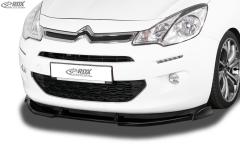 Frontspoiler VARIO-X CITROEN C3 2013-2017 Frontlippe Front Ansatz Vorne Spoilerlippe