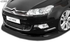 Frontspoiler VARIO-X CITROEN C5 2008+ Frontlippe Front Ansatz Vorne Spoilerlippe