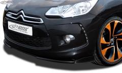 Frontspoiler VARIO-X CITROEN DS3 (2010-2016) Frontlippe Front Ansatz Vorne Spoilerlippe