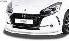 Frontspoiler VARIO-X CITROEN DS3 (2016+) Frontlippe Front Ansatz Vorne Spoilerlippe