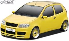 Frontspoiler Fiat Punto 2 Facelift SPORTING Frontlippe Front Ansatz Spoilerlippe