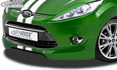 Frontspoiler FORD Fiesta MK7 JA8 JR8 (2008-2012) Frontlippe Front Ansatz Spoilerlippe
