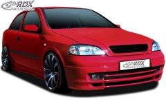 Frontspoiler Opel Astra G Frontlippe Front Ansatz Spoilerlippe