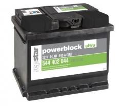Starterbatterie Powerblock Ultra 12 Volt 44 AH