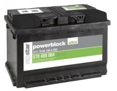 Starterbatterie Powerblock 12Volt 60AH