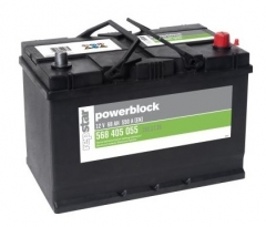 Starterbatterie Powerblock 12 Volt 68 AH