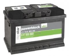 Starterbatterie Powerblock 12 Volt 72 AH
