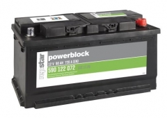 Starterbatterie Powerblock 12Volt 90 AH