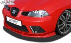 Frontspoiler VARIO-X für SEAT Ibiza 6L FR / Facelift 2006+ (nicht Cupra) Frontlippe Front Ansatz Vorne Spoilerlippe